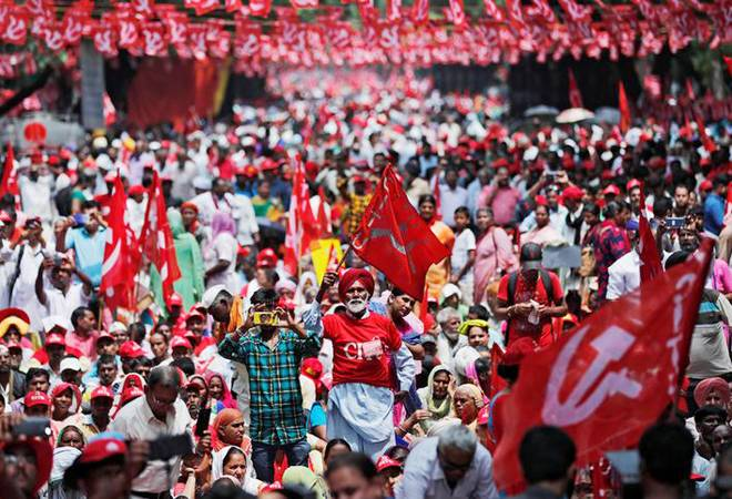 Bharat Bandh for next 2 days: Farmers join 10 trade unions to protest against Modi govt policies