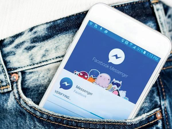 Clutter-free FB Messenger