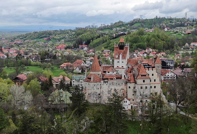 Dracula's Castle in Romania lures visitors with free COVID-19 vaccinations