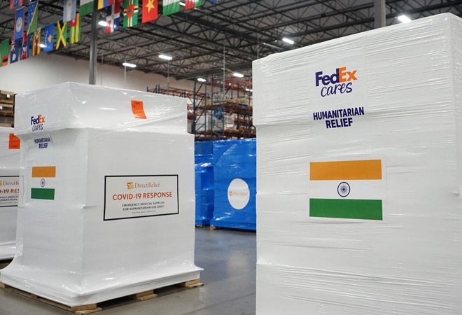 FedEx to deliver 25,000 oxygen concentrators, converters, masks to India amid 2nd COVID-19 wave