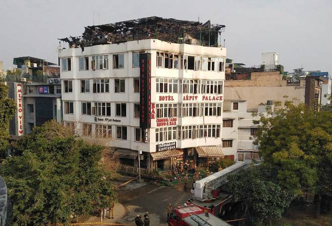 Karol Bagh hotel: At least 16 dead in massive fire at Delhi's Arpit Palace