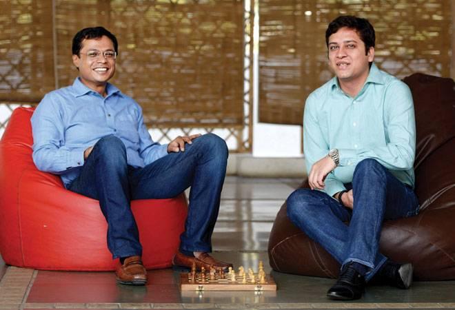 Sachin and Binny Bansal Co-founders, Flipkart (Photo: Nilotpal Baruah)