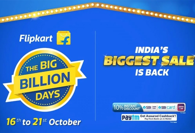 Flipkart Big Billion Days 2020 sale kicks off today; check out best deals on mobiles, electronics