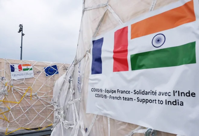 COVID-19 crisis: India gets essential medical supplies from France