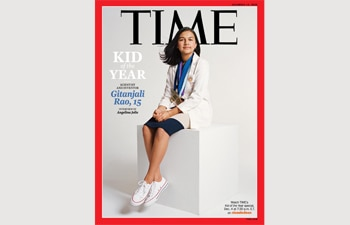 15-year-old Indian-American Gitanjali Rao becomes TIME's first-ever kid of the year