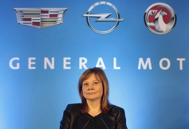 General Motors Co Chief Executive Mary Barra