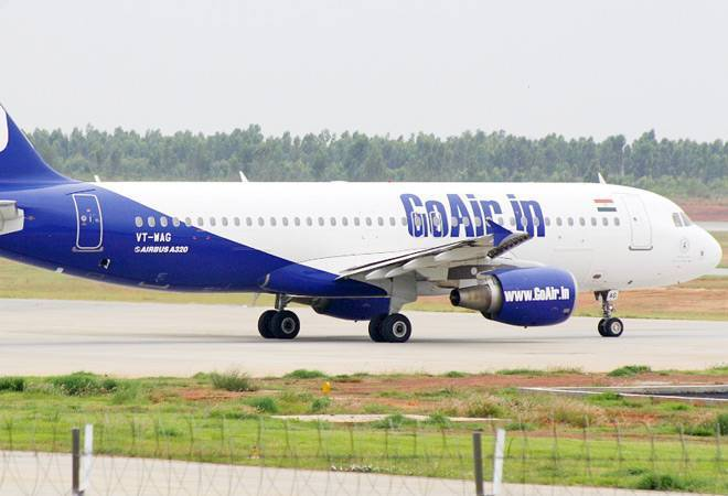 GoAir flight engine catches fire before take-off due to bird hit