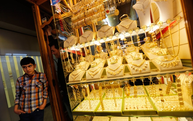 Swiss gold exports to India rises to Rs 1-trillion in 2014