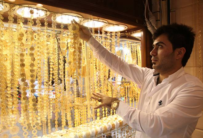 Gold prices rises by Rs 44; silver falls by Rs 460 in national capital