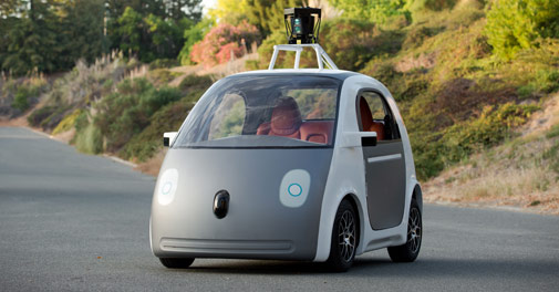 Google is building a car with no steering wheel