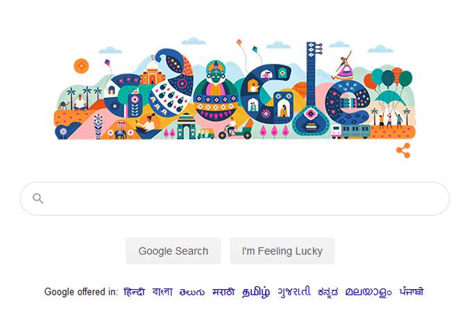 Republic Day 2020: Google Doodle pays tribute to India's diverse culture on Jan 26