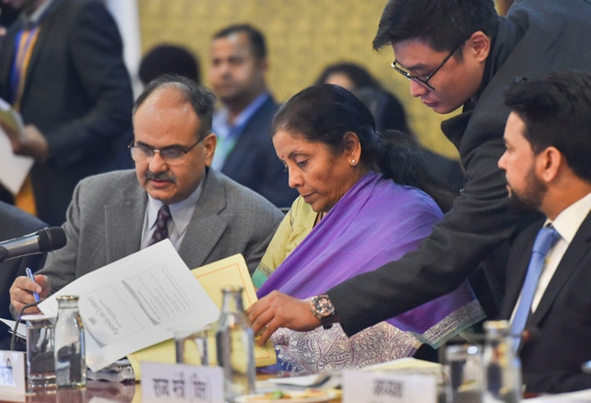 Compensation for GST collected this year to be relased to states tonight: Sitharaman