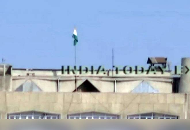 Article 370 revoked: J&K state flag replaced with tricolor on Srinagar civil secretariat building