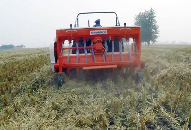 Can Happy seeder machines end the smog in Delhi?