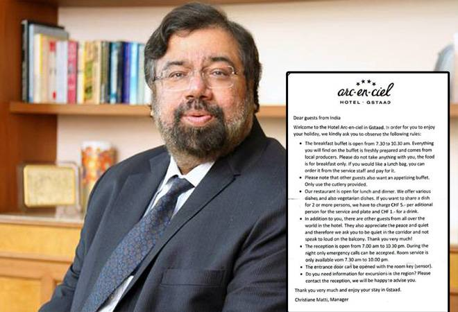Harsh Goenka slams Swiss hotel for issuing code of conduct for Indian guests