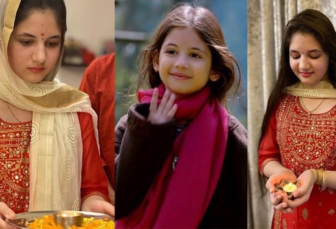 Salman Khan's 'Bajrangi Bhaijaan' co-star Harshaali Malhotra is all grown up; stuns fans with Diwali pics