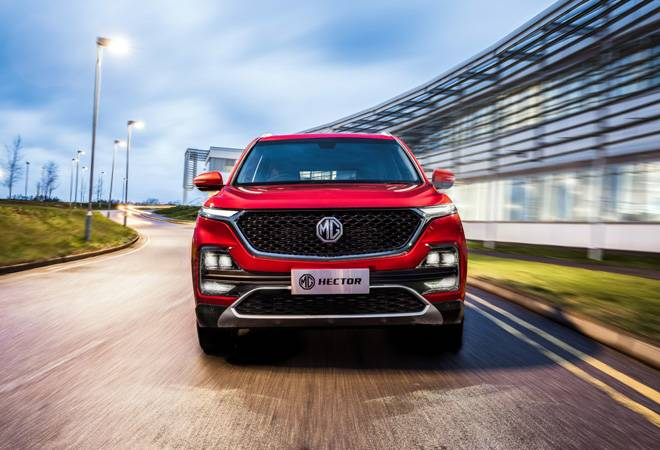 MG Motor's first internet SUV Hector to launch in May; will rival Jeep Compass, Tata Harrier