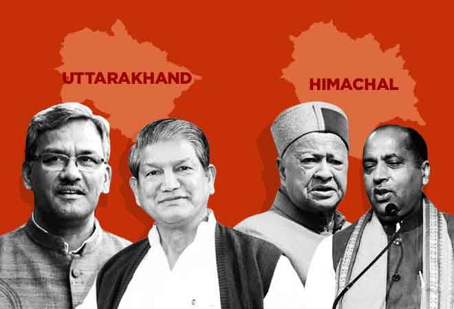 Uttarakhand, Himachal Pradesh election result 2019: Both Himalayan states may go into BJP fold