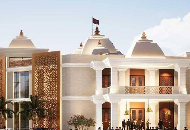The temple is an extension of the Sindhi Guru Darbar Temple in Souq Baniyas, Bur Dubai, one of the oldest Hindu temples in the United Arab Emirates, open since the 1950s