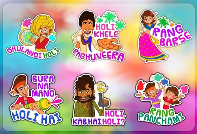WhatsApp Holi stickers: How to download and send customised GIFs?