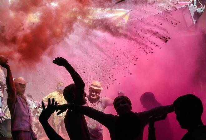 Twin impact of coronavirus, riots mar Holi celebrations in Delhi