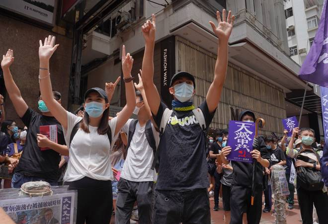 Hong Kong braces for protests over China's proposed national security law