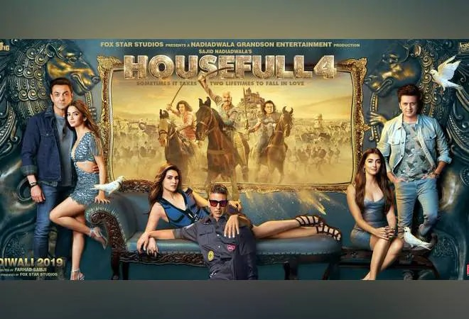 Housefull 4 full movie leaked online by piracy group Tamilrockers