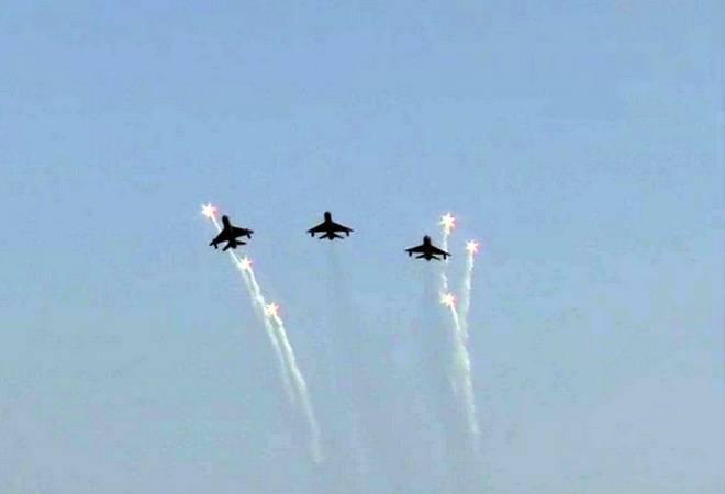 Balakot heroes including Wing Commander Abhinandan Varthaman fly at Hindon Air Force station; watch video
