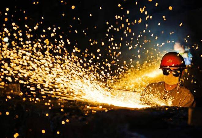 India's Sept industrial output falls at the fastest pace in six years