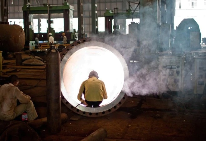 Industry output grows 22.4% in March, contracts 8.6% in FY21