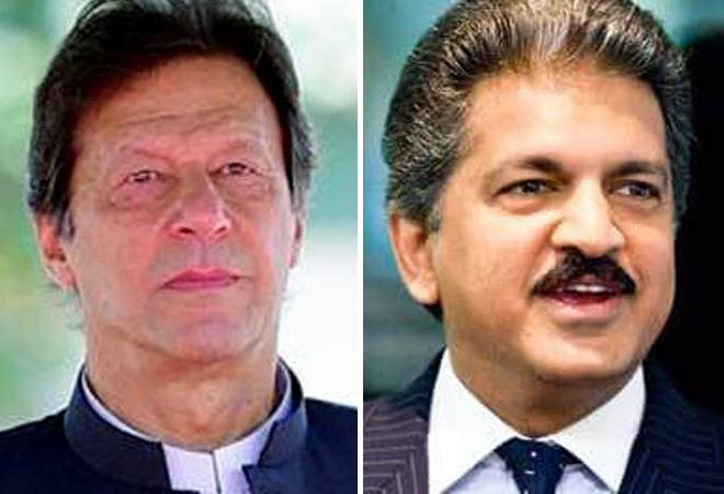 'Thank God! He is not my Geography teacher': Anand Mahindra trolls Pak PM Imran Khan