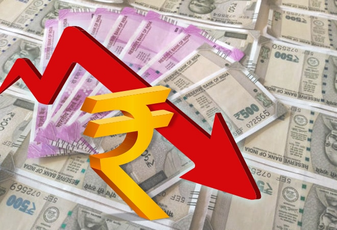 Rupee falls 10 paise to 73.94 per dollar amid muted domestic equities