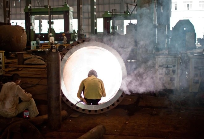 Industrial output contracts 8% in August