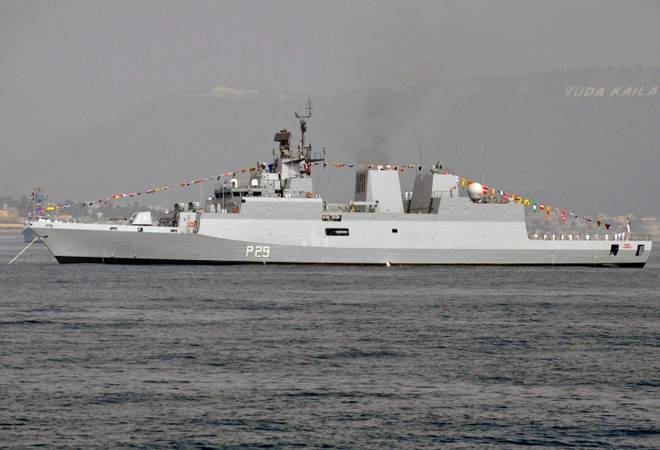 INS Kadmatt to participate in maritime and aerospace exhibition in Malaysia
