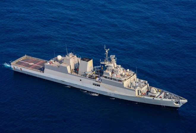 Indigenously-built INS Kavaratti commissioned into Navy