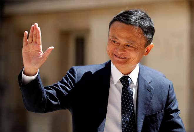 Jack Ma makes rare visit to Alibaba's Hangzhou campus on 'Ali Day'