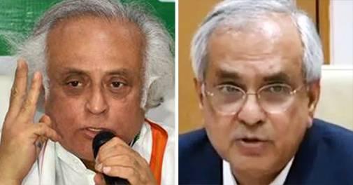 GDP base year row: Congress leader Jairam Ramesh, Niti Aayog's Rajiv Kumar engage in war of words