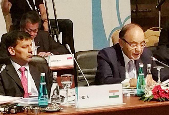 Devaluation, Fed hike transient; real economy matters: FM Arun Jaitley