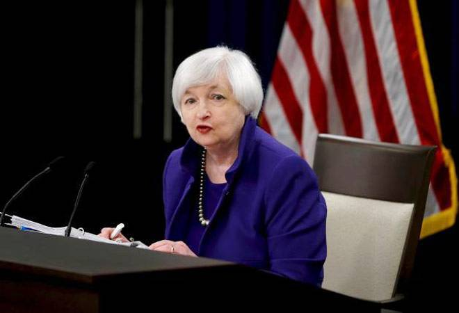US Federal Reserve Chairperson Janet Yellen