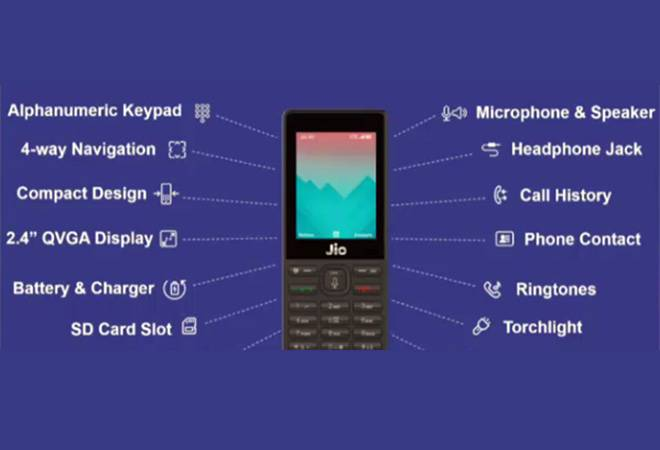 Reliance launches JioPhone at