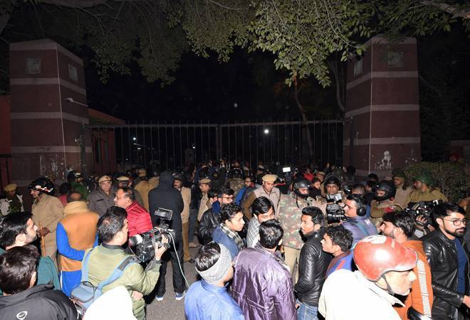 HRD ministry called an urgent meeting with the JNU administration on Monday and sought report