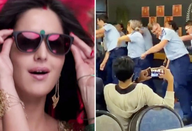 Kiwi cops show their dance moves on 'Kala Chashma'