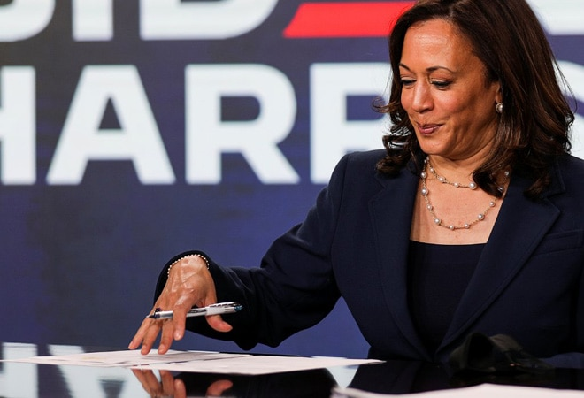 US Presidential elections: Kamala Harris accepts VP nomination, hails Indian connection