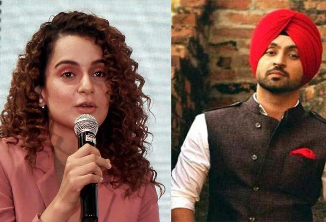 Kangana Ranaut tweets fake news, calls Diljit Dosanjh 'paltu'; internet backs him