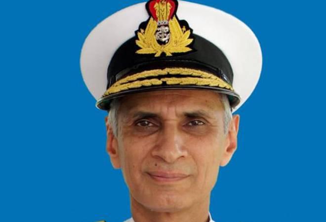 Karambir Singh assumes charge as India's new Navy Chief