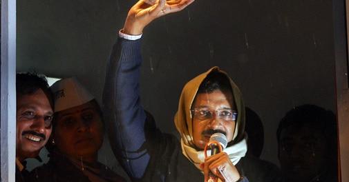 Arvind Kejriwal resigns over Jan Lokpal Bill defeat