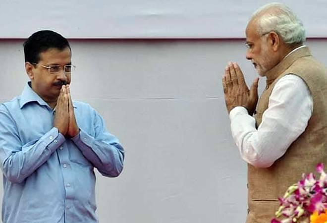 Image result for PM Modi And kejriwal