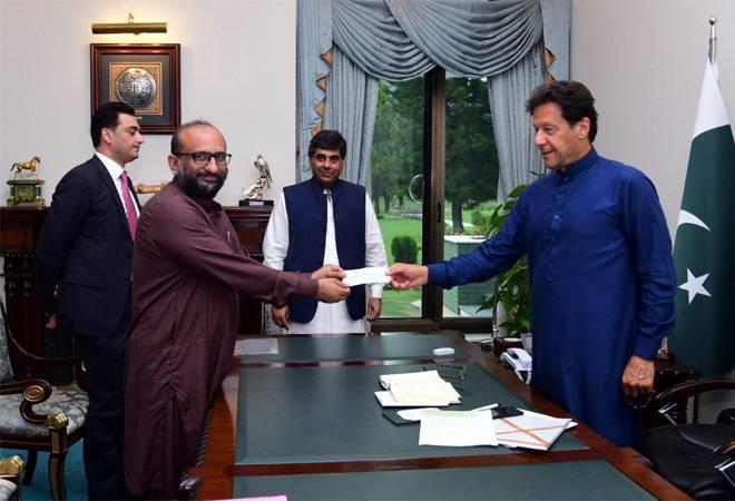 Pakistan PM Imran Khan undergoes coronavirus test after meeting COVID-19 positive philanthropist
