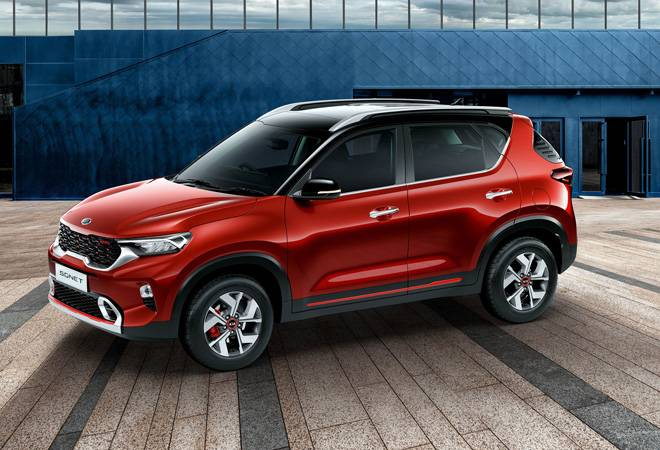 Kia Sonet compact SUV revealed at world premier; to be launched in India next month