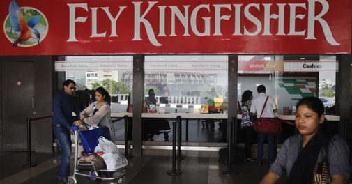 Promoter sells 4 cr Kingfisher Airlines shares